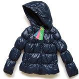 Пуховик зимний Benetton куртка зимняя