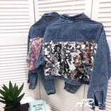 Куртка укороченная 3 цвета 42-46 размеры