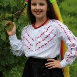 Новиночки Детская рубашка .Размеры 116- 146