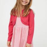 Болеро и платье для девочки H&M