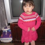 Красивое вязаное платье 2-3 года от Crazу8, Сша