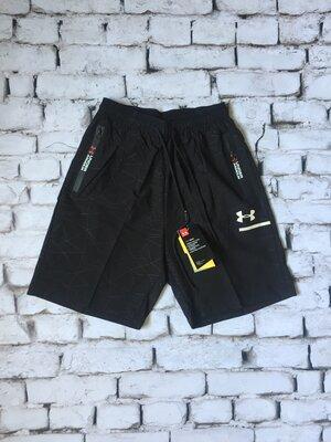 Мужские черные спортивные шорты Ундер Армор Under Armour