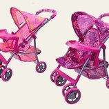 Детская прогулочная коляска для кукол M9304 корзина для игрушек столик
