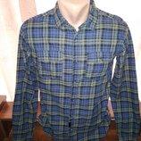 Хлопковая рубашка 46 размера