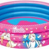 Детский надувной бассейн Barbie Bestway 93205 размер 122х30см