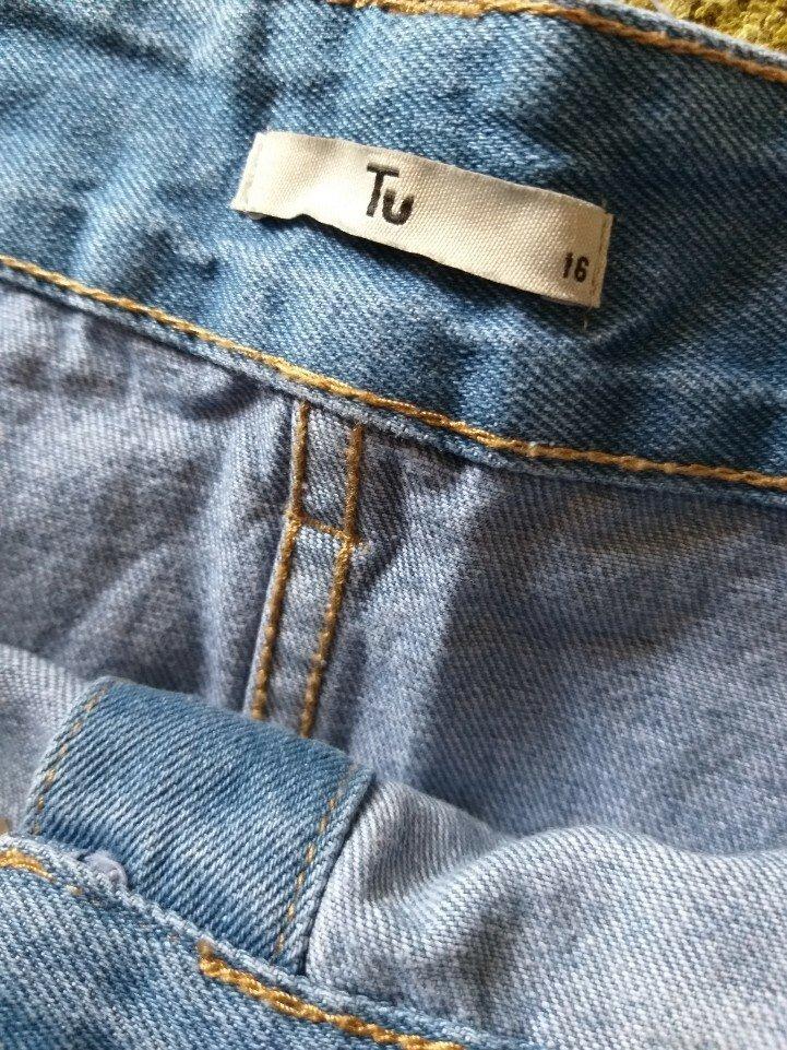 522dad0e1f6f -50% на вторую вещь джинсовая юбка батал на пуговицах tu uk 16 наш 50