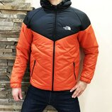 Куртка The North Face orange черно-оранжевая, Турция