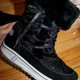42 разм. Зима. Ботинки Cortina snow dei - tex. замша. Термо. Состояние новых. Длина по внутренней с