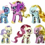 My Little Pony Набор из 6 пони пони мания цветочные Friendship is Magic Friendship Blossom Collectio