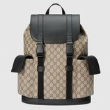 Рюкзак Gucci Soft GG Supreme Backpack Beige/Ebony бежевый