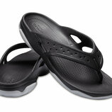 Флипы Crocs Swiftwater Deck Flip, M9, M11, M12