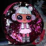 Рюкзак детский кукла Лол Lol Пайетки