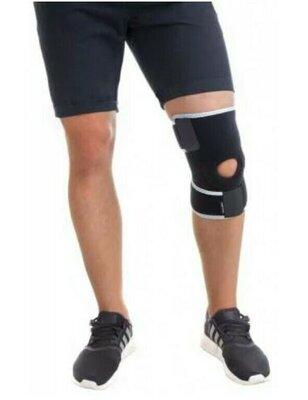 Бандаж на колено разъемный неопреновый синий 1