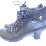 Ботинки на широкие ножки р.41