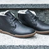 Натуральная кожа, мужские зимние ботинки, сапоги, кроссовки, кеды
