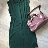 Платье футляр без рукавов, платье миди, трикотажное платье