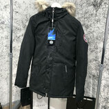 Мужская куртка парка Canada Goose Carson Parka Military Black