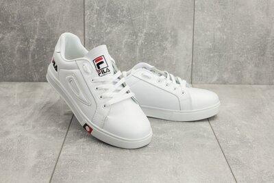 Кроссовки Fila , мужские низкие, белые