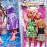 Набори набір з лялькою Ася Таємниця русалки і набір з двох ляльок