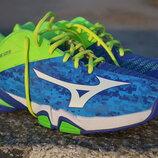 Мужские фирменные кроссовки для тенниса mizuno wave intense
