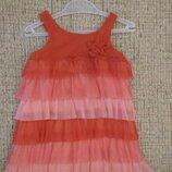 Платье сарафан с фатиновой юбкой