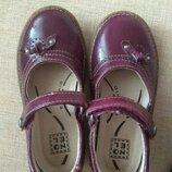 Туфли натуральная кожа, 17,5 см стелька, в идеале