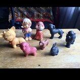 Кукла Ссср.игрушка ссср.Фигурки из резины Ссср набор.
