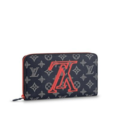 Кошелек Органайзер Louis Vuitton Zippy Monogram Upside Down Ink Navy