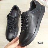 Мужские кроссовки-кеды, BRONI, натуральная кожа, фабричная обувь.