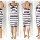Стильное облегающе вискозное вязаное платье Atmosphere. Размер uk 6/eur34, xs