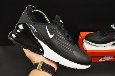 Кроссовки Nike Air Max 270 , мужские, черно белые