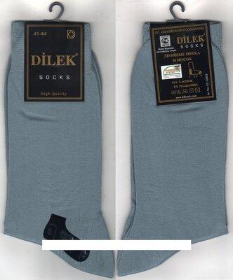 Носки мужские демисезонные х/б Dilek Exclusive, Турция, без шва, 39-42 размер, серые, 12 пар Турция