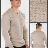 Мужской пуловер. Мужской вязаный джемпер. Пуловер чоловічий