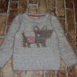 кофта свитер травка 1-2 года одежда 1-16 лет