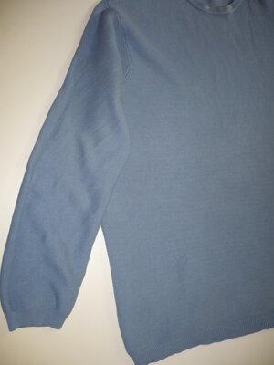 Мужской свитер вязаный xxl-xxxl