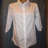 next белая рубашка Некст на девочку, белая блузка на 16 лет