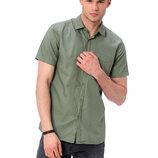 Мужская рубашка LC Waikiki / Лс Вайкики цвета хаки