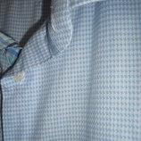 Мужская рубашка,р.52, классика, принт гусиная лапка