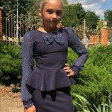 Платье школьное сарафан школьный детский подростковый на девочку