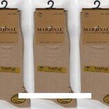 Носки мужские 100% шёлковый хлопок Marjinal, Турция, ароматизированные, без шва, бежевые,6 пар