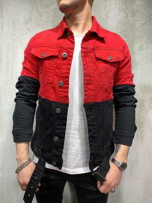 Стильная мужская джинсовка S,M,L,XL.
