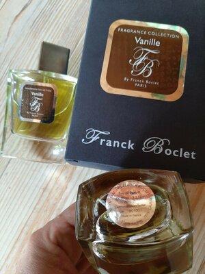 Franck Boclet Vanille