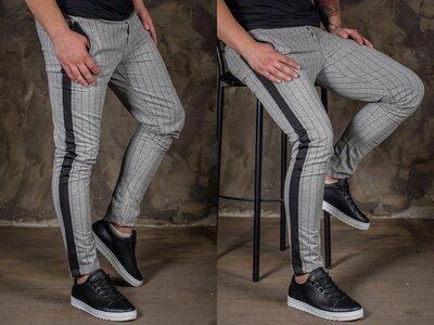 Стильные мужские брюки.Огромный ассортимент цветов XS / S / M / L / XL / XXL