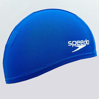 Шапочка для плавания детская Speedo Junior Polyester Cap 7101103 полиэстер, синий