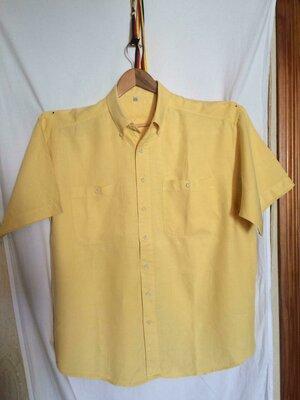 Стильная рубашка,шведка,лен, коллекции angelo litrico c&a италия.