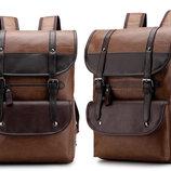 Вместительный мужской рюкзак-ранец В Наличии