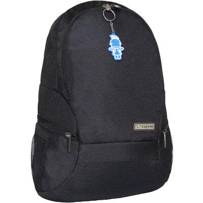 Рюкзак Bagland Urban 20 л. Чёрный школьный подростковый мужской городской для ноутбука