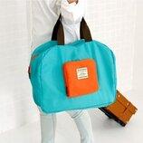 Удобная легкая складная сумка для поездок и путешествий