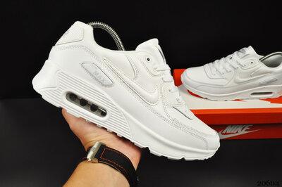 Мужские кроссовки Nike Air Max 90 белые 41-45р
