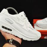 подростковые кроссовки Nike Air Max 90 белые 37-41р